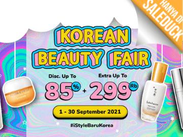 [Eksklusif] Kode promo iStyle.id diskon hingga 85% + Rp 55.000 makeup & skincare Korea