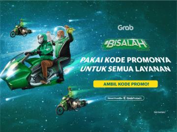 [Hanya di Saleduck] Promo Grab Bike hari ini Rp 15.000 untuk pengguna baru