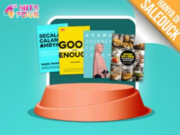 Kode promo Gramedia diskon Rp 35.000 eksklusif beli buku best seller