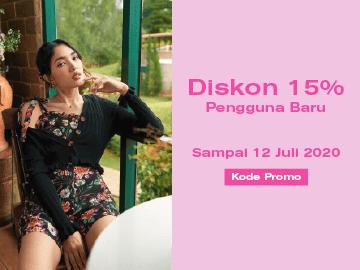 Kode promo Pomelo diskon 15% eksklusif beli fashion wanita terbaru