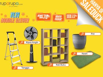 Kode promo Ruparupa diskon Rp 120.000 belanja semua produk