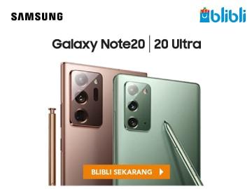 Pre-order Samsung Galaxy Note 20 gratis voucher Rp 2,6 juta promo Blibli
