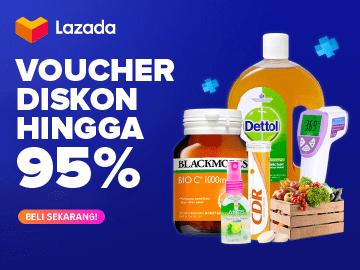 Temukan kumpulan kode voucher Lazada Indonesia diskon hingga 95% tiap hari disini
