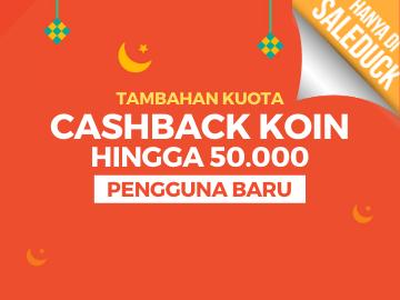 [Terbaru] Spesial voucher Shopee Ramadan cashback hingga 50.000 koin pengguna baru
