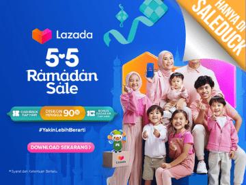 [Terbatas!] Kode voucher Lazada diskon Rp 25.000 eksklusif pengguna baru