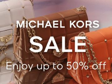 [Terbatas] Michael Kors promo hingga 50% off semua produk fashion