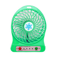 Tic Tac Toe Maximo Rechargeable Portable Mini Fan with Battery and Flash -  Hijau 8ac66f57ac