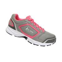 League Legas Series Rapid 2 LA W Grey Pink Sepatu Lari Wanita e8eb2452a4