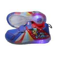 Ardiles Sepatu Anak Lampu Eboy - Blue Red